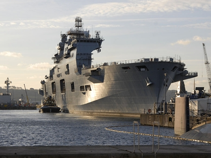 £65m Contract To Refit Royal Navy's Largest Warship Secures Hundreds Of UK Jobs