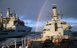 Westminster and Wave Knight turn rainbow warriors in the Channel