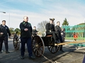 HMS Collingwood says goodbye to Commodore Mansergh