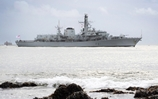 HMS Sutherland Returns to Her Home Base In Time For Christmas