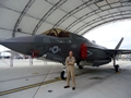 First Navy F35 pilot completes first month's training