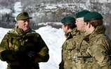 Royal Marines host Norwegian Royalty