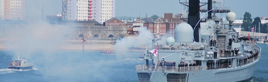 HMS Edinburgh Final Portsmouth