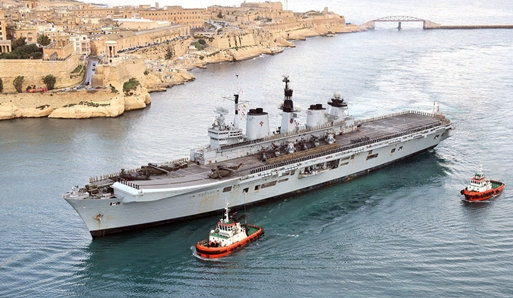 Illustrious in Malta