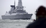 HMS Duncan arrives in Portsmouth