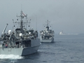 Major mine test for five of Royal Navy's ships in the Gulf