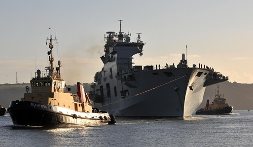 HMS Ocean Homecoming