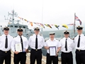HMS Grimsby's sailors recognised with awards