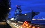 HMS Illustrious Works With Danish Military In Copenhagen