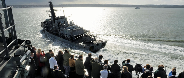 Maritime Combat Power Visit in autumn 2011