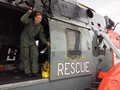 First female search and rescue aircrewman