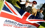 100 Days To Go Until Armed Forces Day 2013