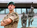 Kosovo refugee awarded coveted Green Beret