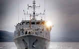 Clyde Mine Hunter Takes Command Of Mediterranean Task