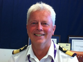 Royal Fleet Auxiliary Commodore awarded OBE
