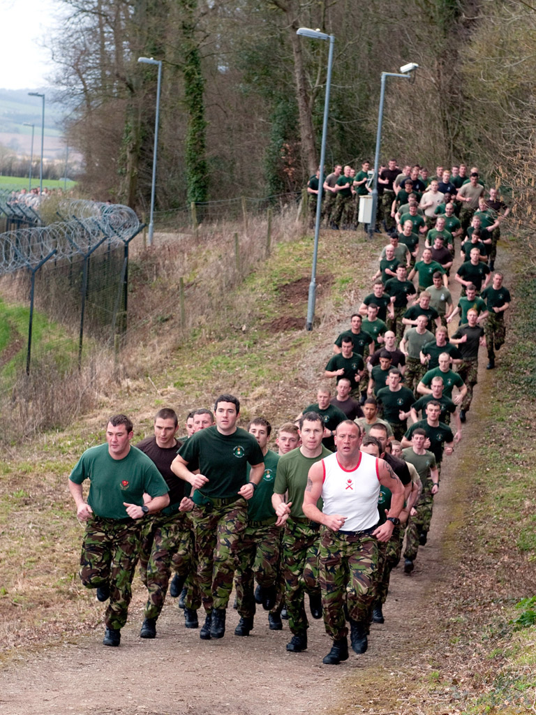 Fitness Test: The Royal Marines Fitness Test
