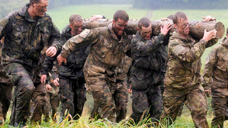Royal Marines Fitness Training