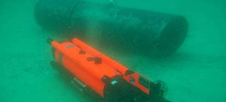 Pembroke's UUV in action