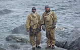 Navy duo recreate Antartic rescue mission
