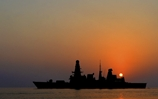 HMS Dragon patrols gulf region