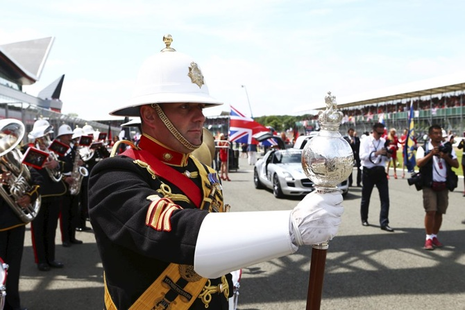 Grand Prix Performance for military musicians