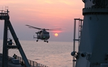 Wildcat goes to sea as new helicopter is tested off the South Coast