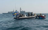HMS Northumberland Conducting counter Narcotics Operations