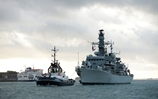 Drug-Busting HMS Lancaster returns to Portsmouth