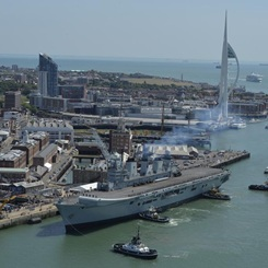 HMS Illustrious final homecoming