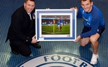 Naval photographer's image of Rangers legend will help good causes