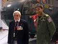 Rescuers help launch major exhibition marking 60 years of lifesaving by naval fliers