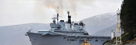 HMS Illustrious in Glen Mallen