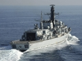 Hectic pace for HMS Montrose in the Gulf on the eve of Christmas