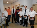 HMS Severn meets lions' number eight