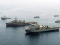 Mine forces show of strength as they unite in Gulf exercise