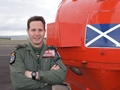 Ayrshire Royal Navy pilot honoured for outstanding airmanship and courage